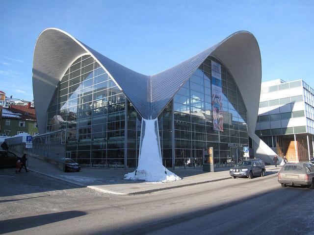 Biblioteka publiczna w Tromsø • Flickr.com, Bernt Rostad
