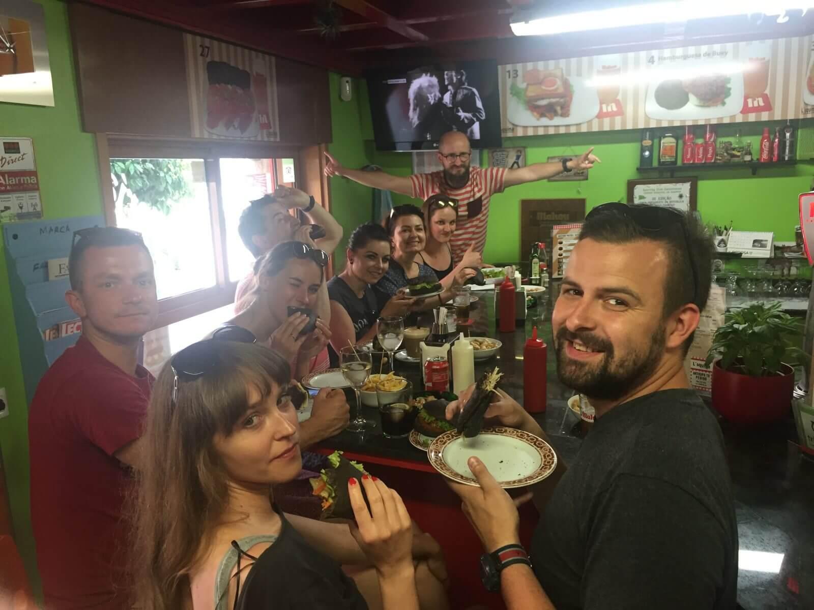 Kanapki u Carlosa w Vigo – najlepsze!