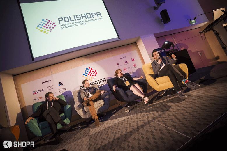 Panel dyskusyjny – Design Thinking na świecie • SHOPA