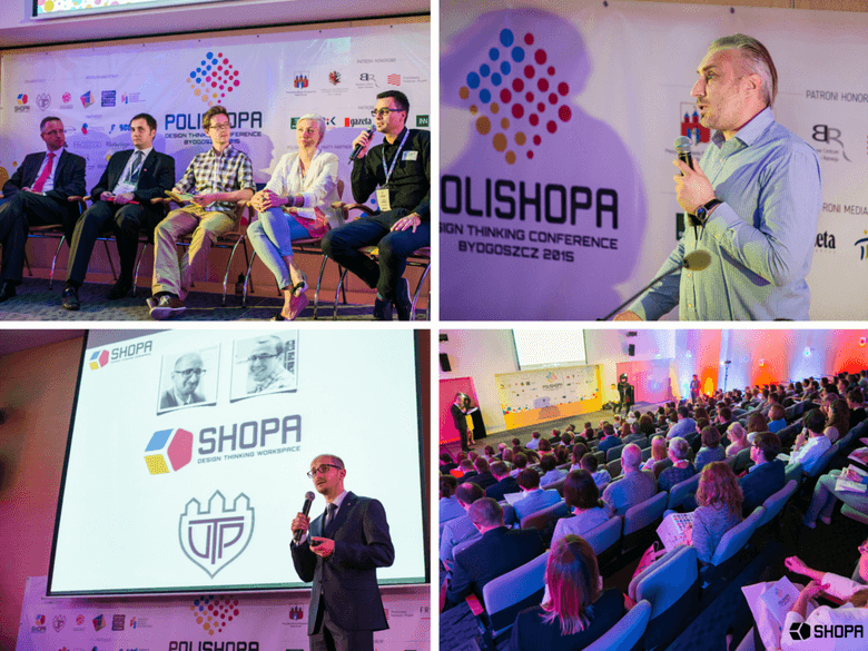 Polishopa Design Thinking Conference Bydgoszcz 2015 • SHOPA