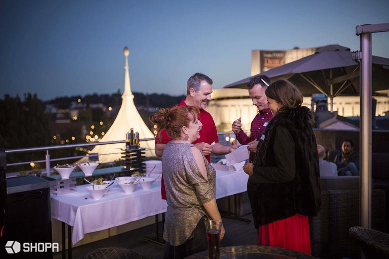 Spotkanie powitalne dla prelegentów oraz partnerów konferencji • SHOPA