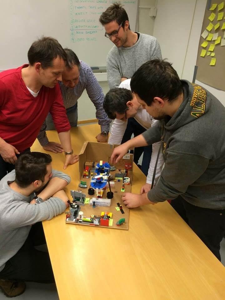 Wspólne prototypowanie w DTLab na Uniwersytecie w Tromsø