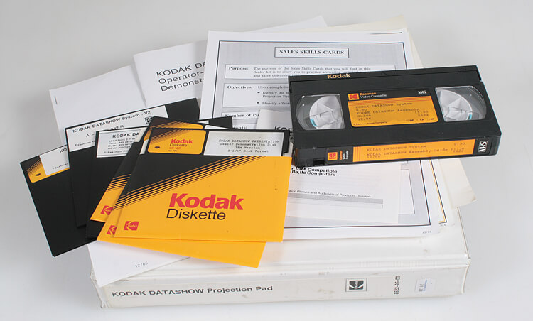Dyskietki-Kodak-VHS