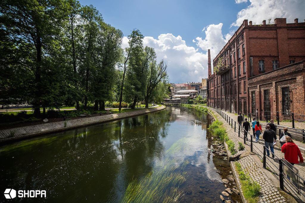 Zwiedzanie Bydgoszczy – rzeka Brda